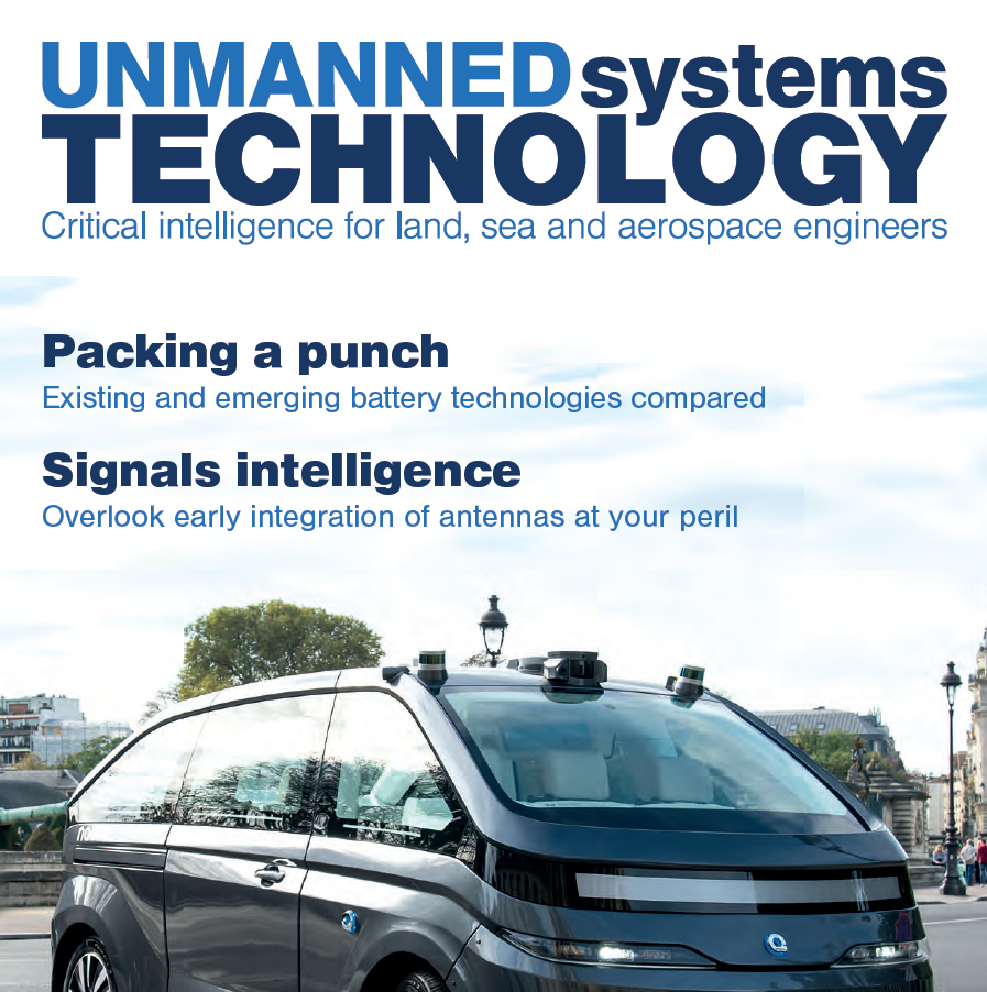 Sentient Blue featured in Unmanned Systems Technology
